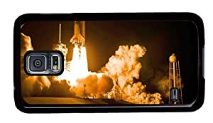 Hipster Samsung Galaxy S5 Case fancy discovery space shuttle launch PC Black for Samsung S5