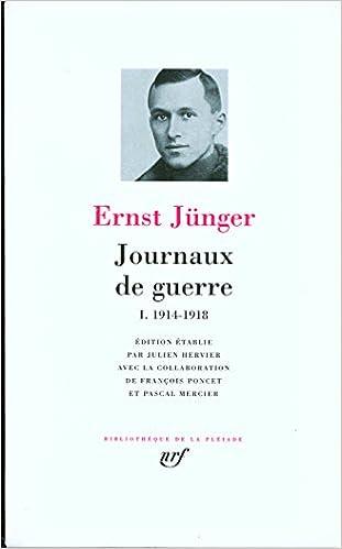 Livres Journaux de guerre (Tome 1-1914-1918) pdf epub