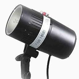 ePhoto 160 WS Photography Studio Lighting Mono Light Master Slave Strobe Flash Light by ePhotoINC Fan160