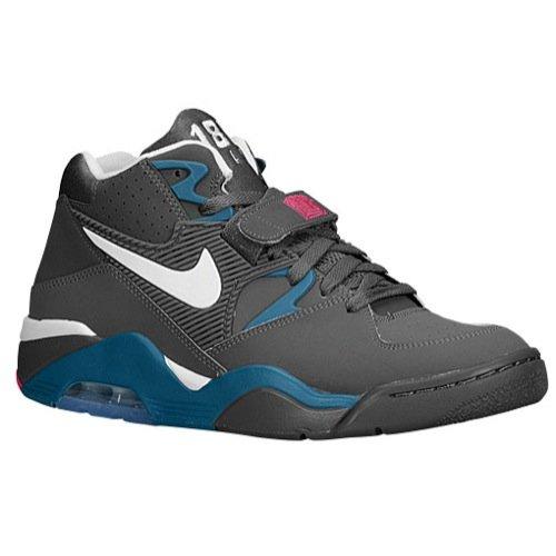 NIKE MENS AIR FORCE 180 SNEAKER Dark Grey - Footwear/Sneakers 8.5