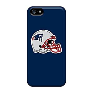 Excellent Iphone 5/5s Cases Covers Back Skin Protector New England Patriots 7