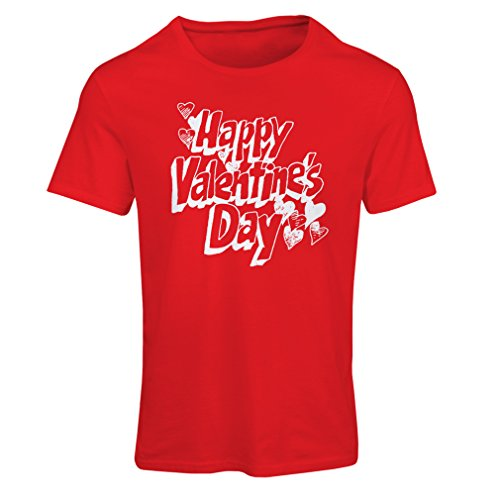 T Shirts for Women Happy Valentine Day - My Love Love Quotes Dating Gifts (Small Red Multi Color)
