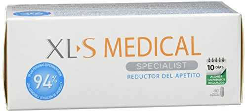 XLS Medical  - Cápsulas reductoras del apetito. Tratamiento y prevención del exceso de peso y control general del peso 10