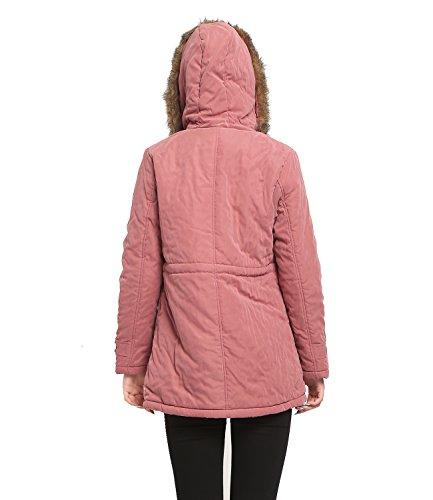 Pink Cappuccio Con Felpa Donna Blivener w0YqIE
