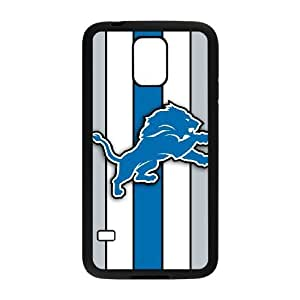 Samsung Galaxy S5 I9600 Phone Case Sports NFL Detroit Lions Protective Cell Phone Cases Cover DFZ018001