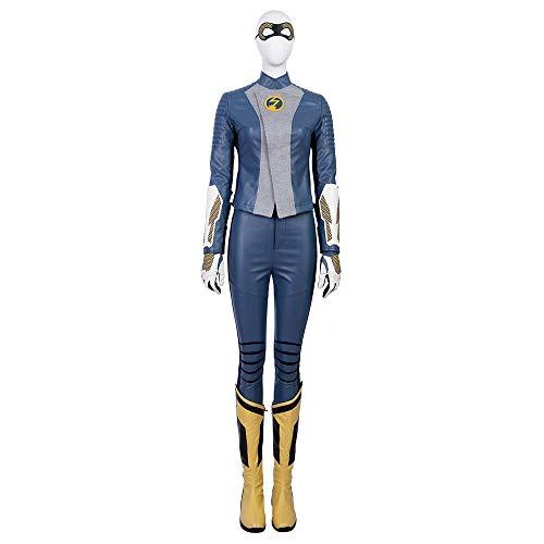 COSSHOW The Flash Season 5 Nora Allen Cosplay Costume Full Suit Women Halloween]()