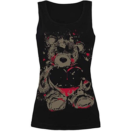 Maryswill Women's Skull 3D Print Pattern Tank Top Casual Sleeveless Summer Shirt Vest