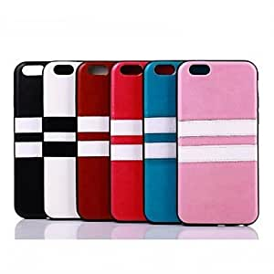 ZCL Leather Stripe Case for iPhone 6(Assorted Colors) , Brown