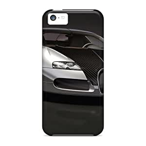 First-class Cases Covers For Iphone 5c Dual Protection Covers Bugatti
