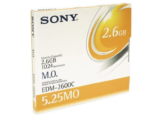 (The Best SONY 5 1/4 2.6GB 1024B/S RW. (OLD PART# EDM-2600B) OPTICAL DISK)