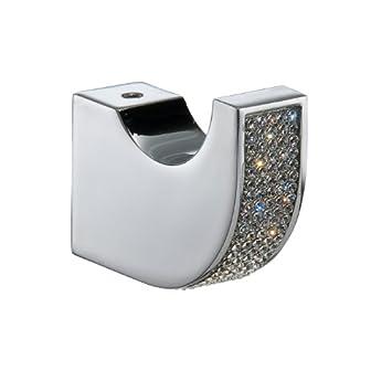 Amazon.com: Carmen Towel Robe Hook, Small Decorative Bathroom ...