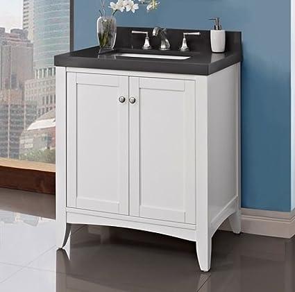 Fairmont Designs 1512 V30 Shaker Americana 30u0026quot; Vanity   Polar White