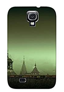 Awesome UsNgUIA2981CVAdA Chapiterq Defender Tpu Hard Case Cover For Galaxy S4- Pigeons On A Rooftop