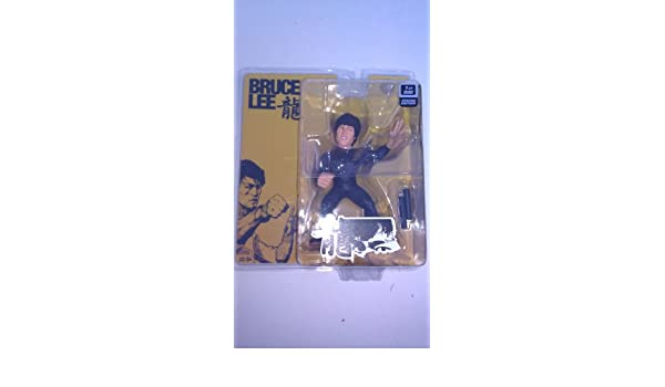 Amazon.com: (Limited Special Edition 1 of 500) Bruce Lee Round 5, Series 7 UFC Action Figure, 6 Inch, Black Jumpsuit: Toys & Games