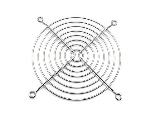 XSPC 120mm Wire Fan Grill, Chrome, 4-Pack