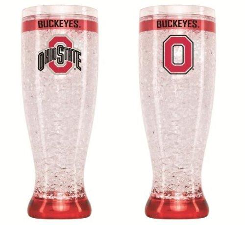 Ohio State Buckeyes Crystal Pilsner Glass