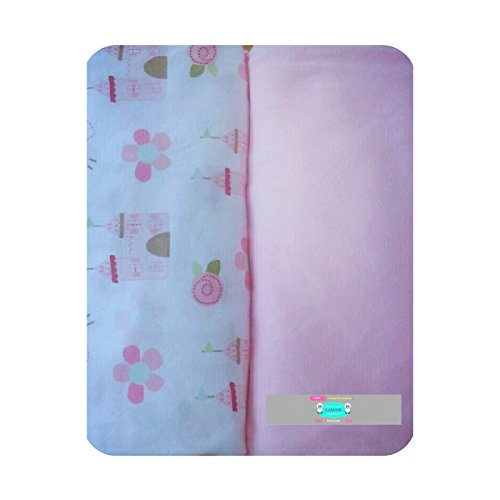Your choice of Blue or Pink! Munchkin Changing Pad Cover