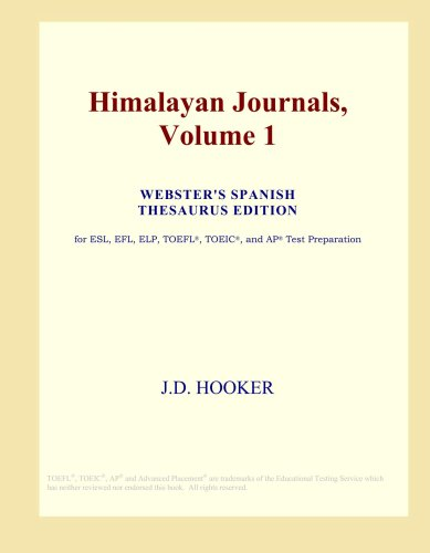 himalayan-journals-volume-1-websters-spanish-thesaurus-edition