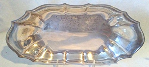 Silver Plated CHIPPENDALE Bread Tray, International Silverplated CHIPPENDALE 12