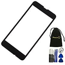Mencia Front Screen glass lens Cover for Nokia Lumia 630 635 with free tools (Not include LCD Digitizer(White)