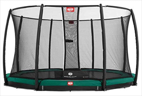 Cama elástica Berg InGround Champion 430 + Red Deluxe: Amazon.es ...