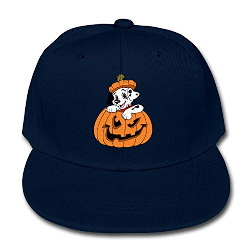 Puppy Clipart Halloween Children's Adjustable Hip Hop Baseball Cap -