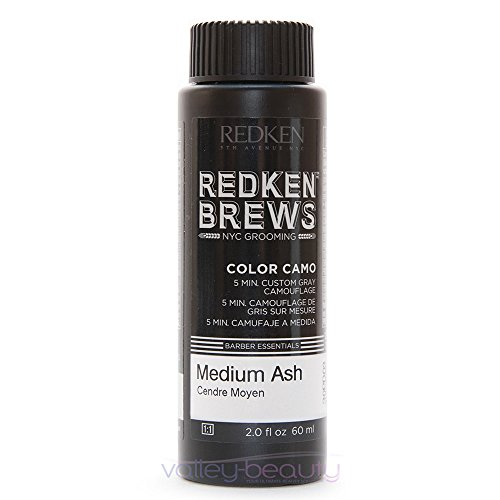 Redken For Men 5 Minute Color Camo - Medium Ash 3 bottles 2oz each