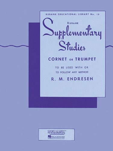 Supplementary Studies: Cornet or Trumpet (Rubank Educational Library)
