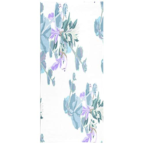 - Soopat Beach Towel,Silver Colorful Succulent Natural Cactus with Violet Modern Funky Style White 30x60 Inch s Sand Free Beach Blanket for Travel Sports Beach Yoga Water Park