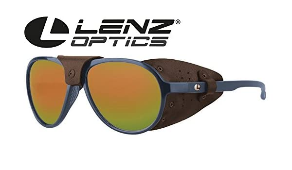 Lenz Optics Spotter Discover Sunglasses Dark Blue - Polarización Gafas, Gafas de Sol para Pesca, Pol Gafas para Pesca con Mosca: Amazon.es: Deportes y aire ...