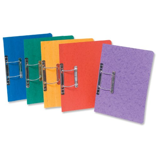 EUROPA SPIRAL FILE ASSORTED A PK25 by Europa
