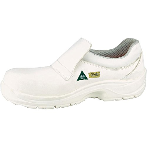 Cofra 10390-CU0.W10 Steam SD+ PR Safety Shoes, 10, White
