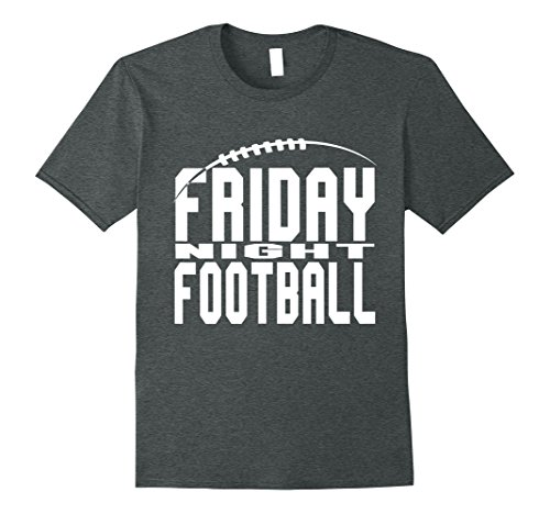Mens Friday Night Football High School Football Tee Shirt Large Dark Heather