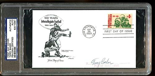 Terry Baker Signed FDC 6.5x4 Autographed Heisman Oregon State 1962 ()