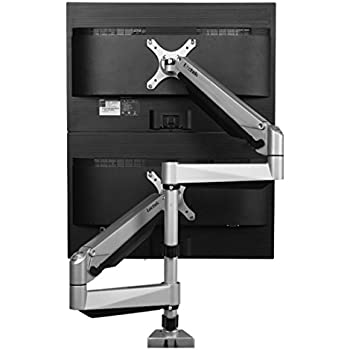 Amazon Com Vivo Dual Lcd Monitor Desk Mount Stand Heavy