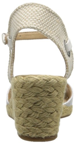 Wedge Lucky Sandal Natural White Kyndra Women's Uqqw8A