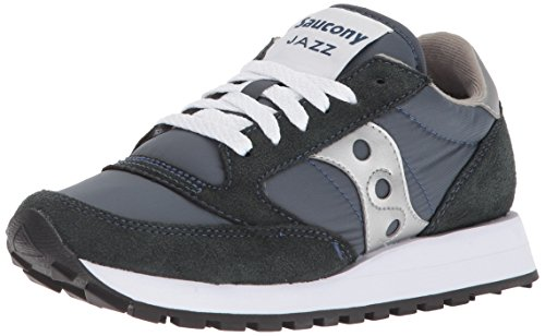 Saucony Originals Women's Jazz Original Navy/Silver 9 M US