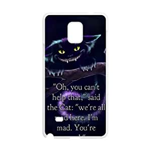 Samsung Galaxy Note 4 Phone Case Cover Alice in Wonderland ( by one free one ) A62745