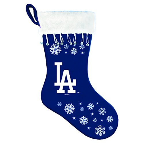 MLB Los Angeles Dodgers Snowflake Stocking