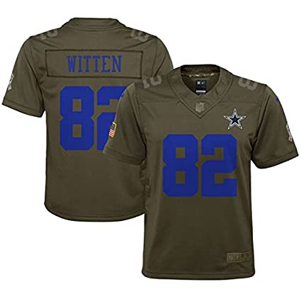Dallas Cowboys Youth Jason Witten  82 Nike Limited Salute to Service Jersey 864fce237
