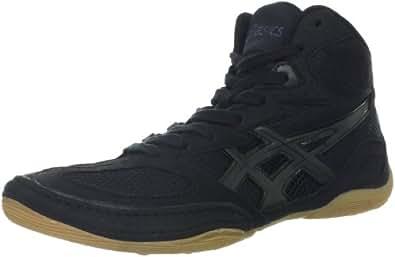 ASICS Men's Matflex 4 Wrestling Shoe,Black/Onyx,6.5 M US