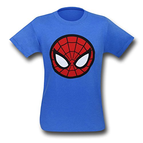 Spiderman Classic Icon Men's T-Shirt- Large