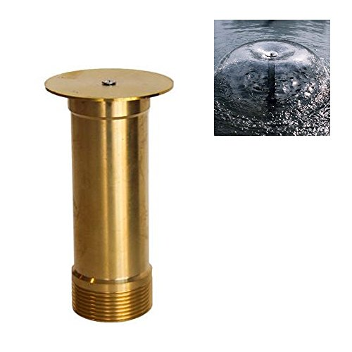 NAVADEAL Display Bell Fountain Nozzle - 1/2