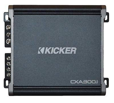 Kicker 43CXA3001 600 Watt MONO Class D Power Car Audio Amplifier Amp CXA300.1