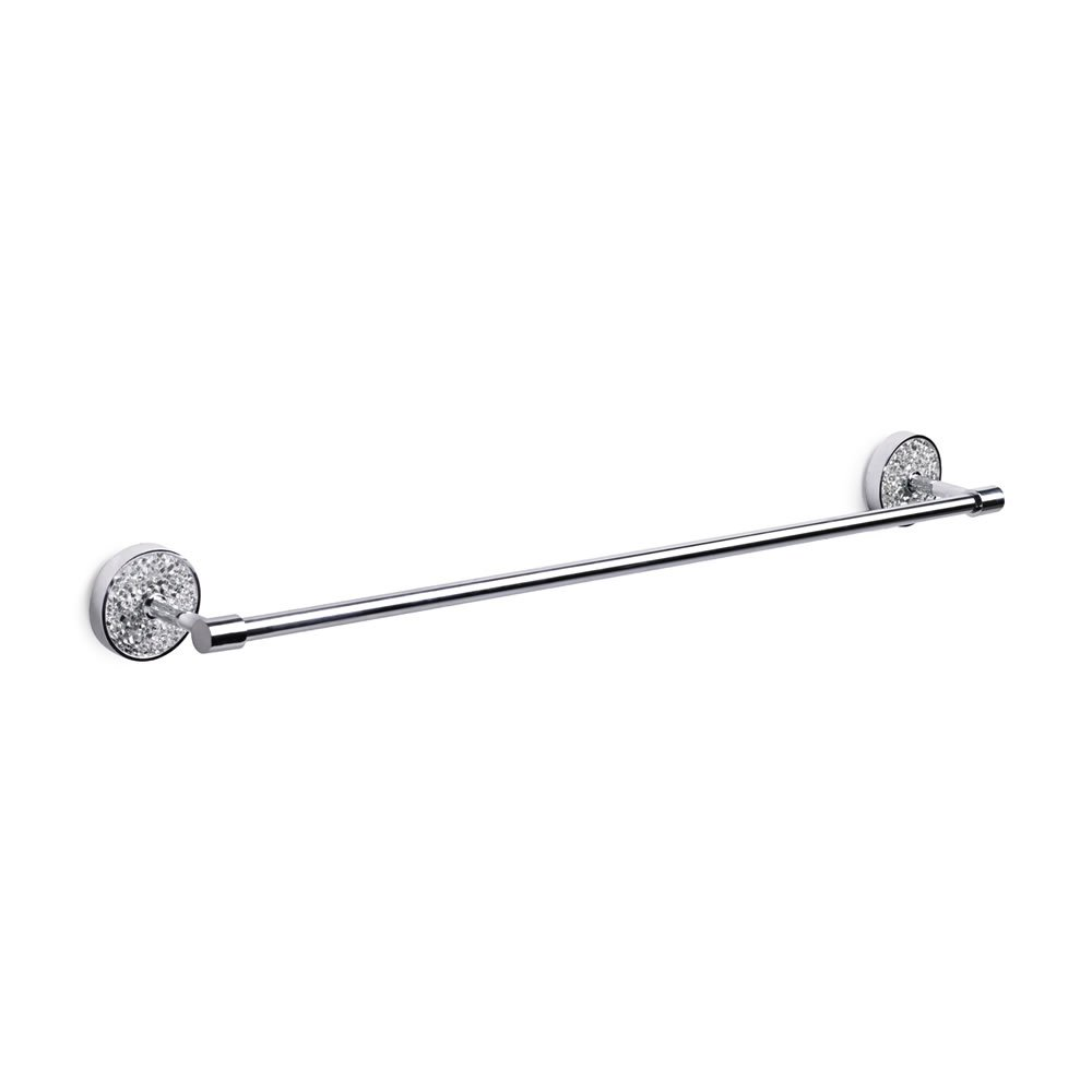 silver crackle bathroom accessories. Home Treats Bathroom Towel Rail Silver Mosaic  Amazon co uk Kitchen