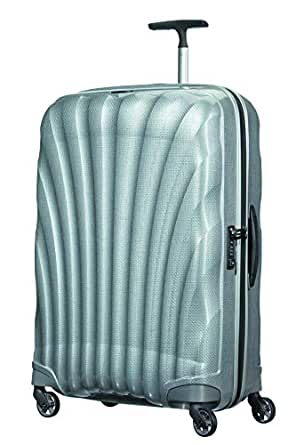 Samsonite 73351 Cosmo lite 3 Spinner Hard Side Luggage, Silver, 75 Centimeters