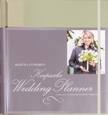 Martha Stewart's Keepsake Wedding Planner[MARTHA STEWARTS KEEPSAKE WEDDI][Hardcover]