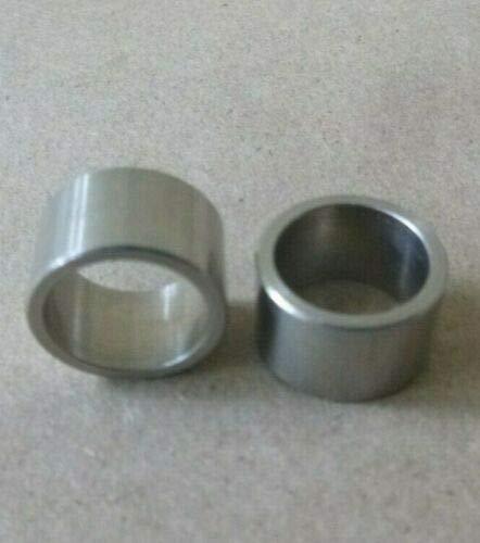 """1/2"""" ID x 5/8"""" OD x 3/8"""" Long Stainless Steel 303 Standoff Spacer SPACERS BUSHINGS (2pcs.)"""