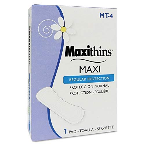 Hospeco Maxithins Thin, Full Protection Pads, Individually Boxed - HOSMT-4