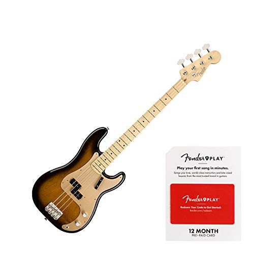 Fender American Original '50s Precision Bass Electric Bass Guitar 2-Color Sunburst -